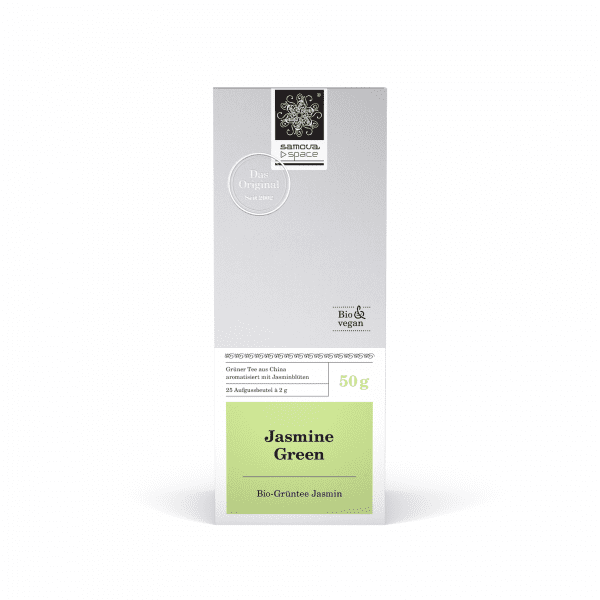 Pack of Jasmine Green tea with 25 tea bags