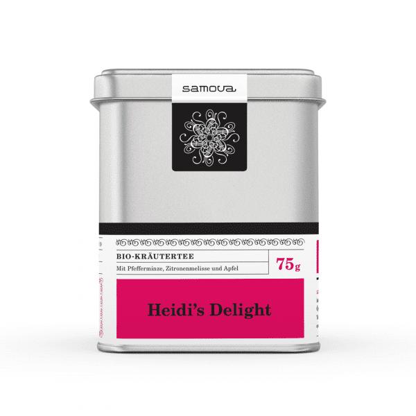 Boîte de thé Heidi's Delight
