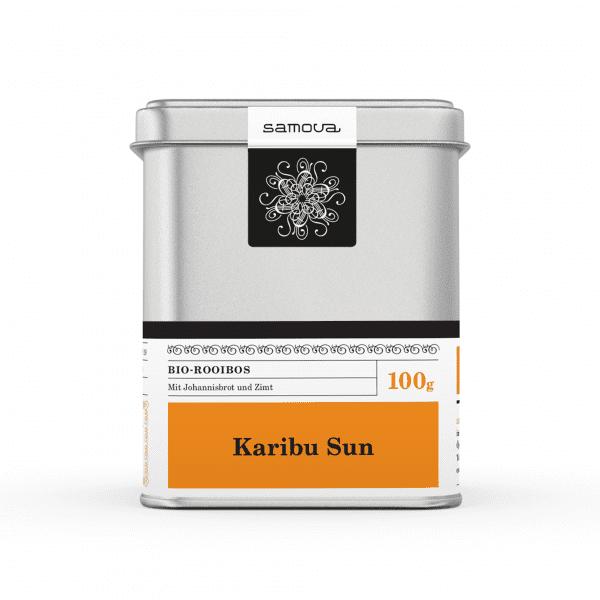 Dose der Teesorte Karibu Sun