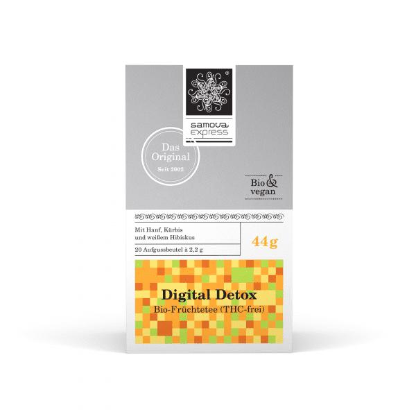 Pack de té Digital Detox con 20 bolsitas de té